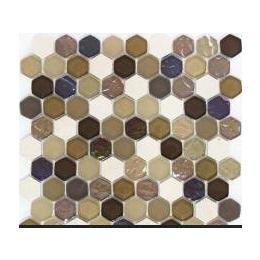<em>水晶玻璃</em><em>石材</em><em>马赛克</em> 背景墙装饰 六角形蜂窝 mm-mosaic