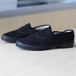 男款帆布休闲平底单鞋防滑软底鞋透气板鞋