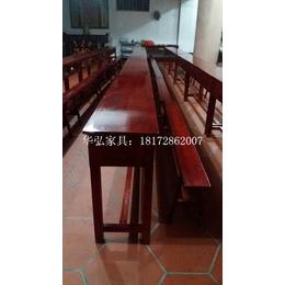 南普陀寺院专用桌椅板凳 跪拜垫实木长凳大师傅椅太师椅订做批发
