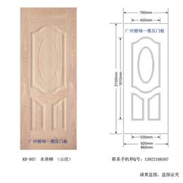 销往广东河源贴木皮模压门板厂