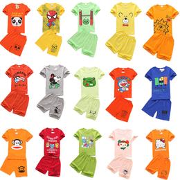 上蔡厂家批发童装套装儿童优质服装关爱小孩健康成长的好衣服