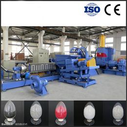 南京广塑GS-150 滑石粉云母粉碳酸钙填充母粒造粒机
