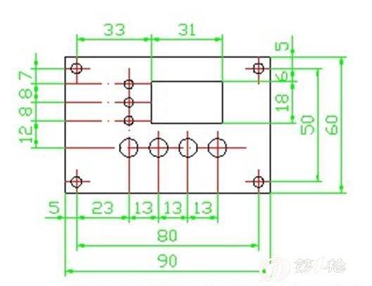 时间控制电路板