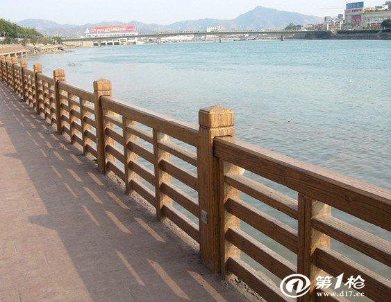 仿木grc护栏围栏 栏杆工艺