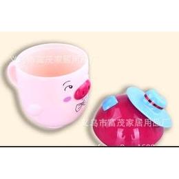 厂家直销爵士帽小猪<em>杯子</em> 塑料<em>杯子</em><em>个性</em>时尚可爱儿童杯 茶杯 水杯