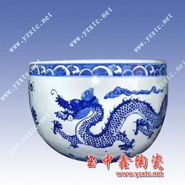 陶瓷大缸景德镇陶瓷花盆陶瓷鱼缸