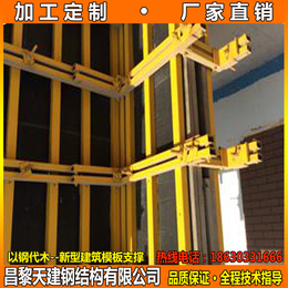 福建施工材料可调节剪力墙模板支撑钢模板加固