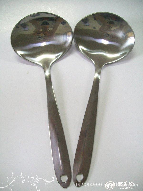 优质不锈钢圆头匙 大勺(9522)