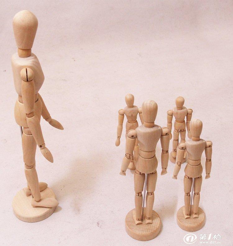 木头人偶hc165   购买须知:请亲们看好型号和尺寸,以免购买错误