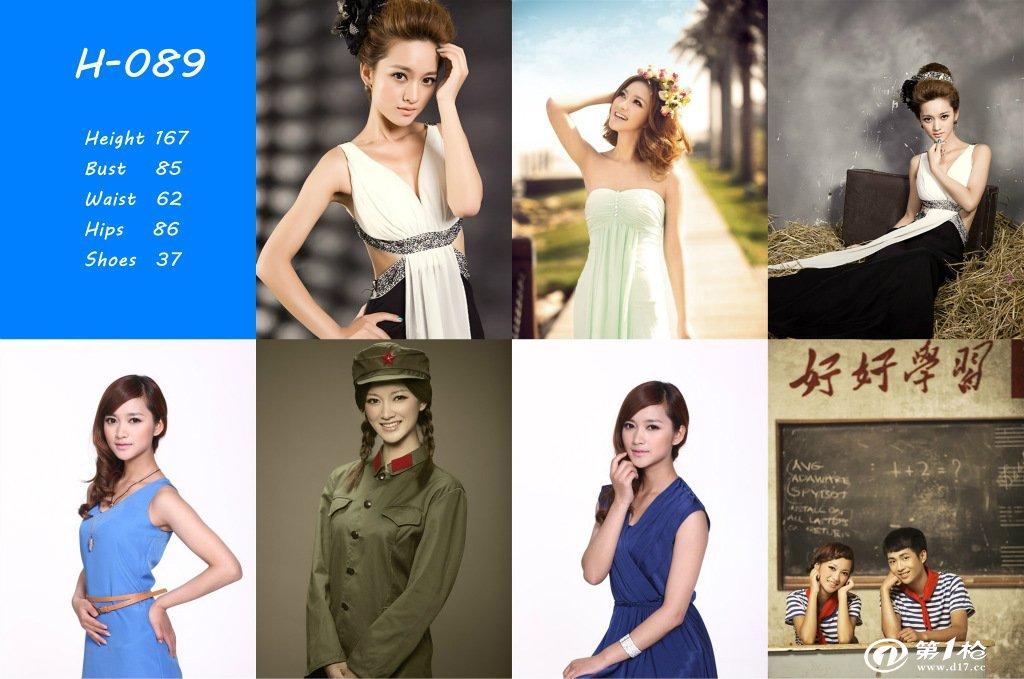 杭州平面模特
