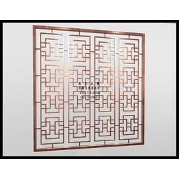 不锈钢屏风装修效果图大全 杭州莫戈金属屏风定制专家
