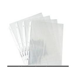 【厂家定做】环保PP3孔文件袋 PP文件夹内页袋 A4