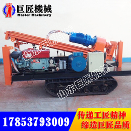 冲击式水井钻机CJD-150履带式气动打井机