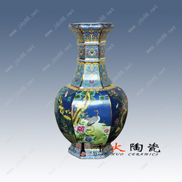 供应漂亮陶瓷花瓶 周年纪念花瓶  手绘花瓶价格