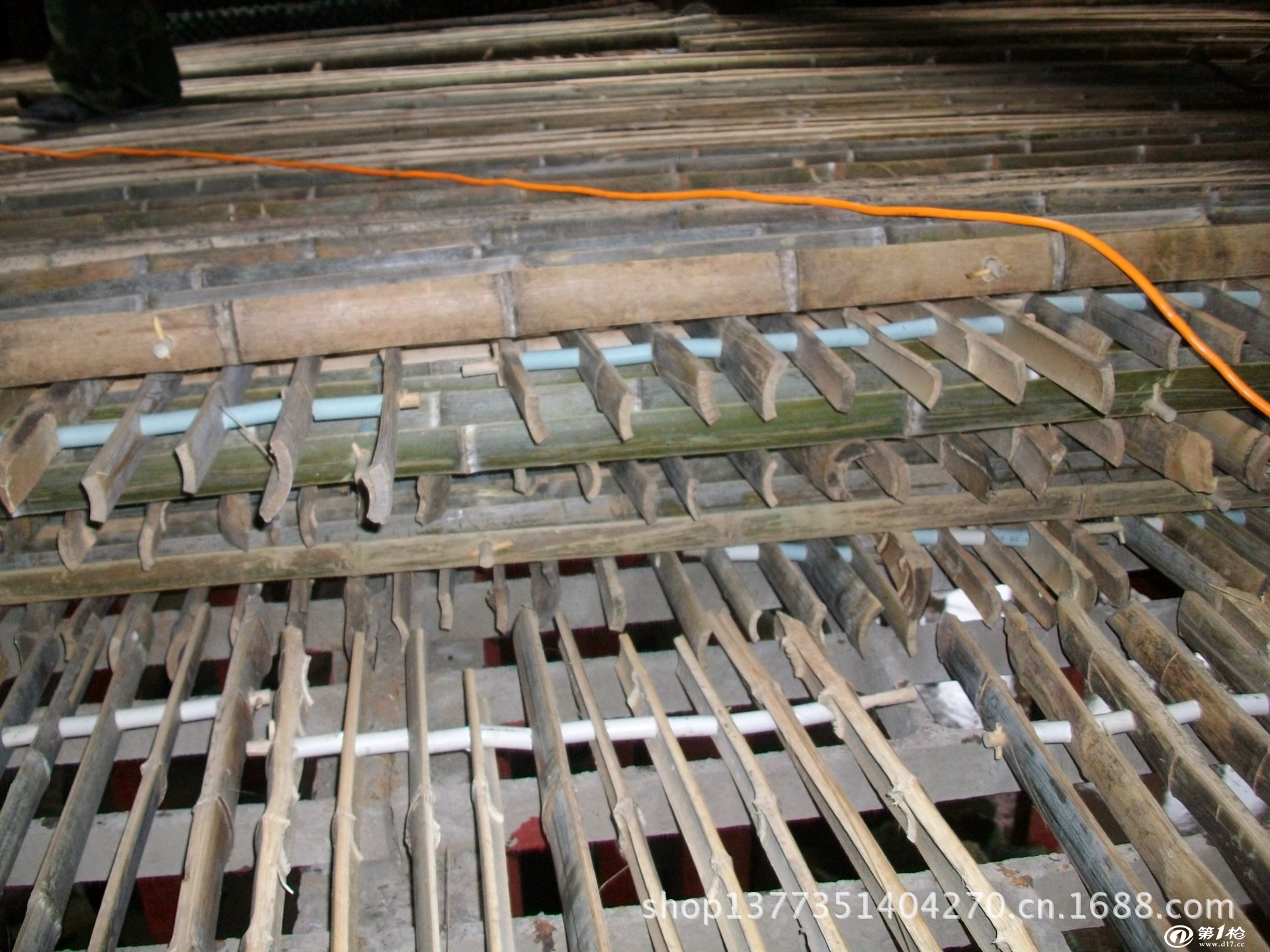 双曲线冷却塔竹格环保填料