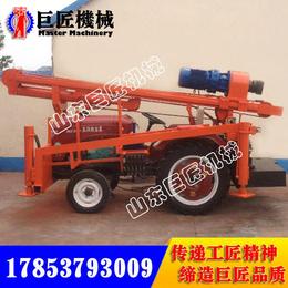 CJX-150拖拉机式气动水井钻机 150米气动钻井机