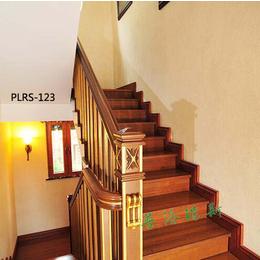普洛瑞斯实木楼梯效果图 楼梯雕花图片