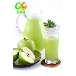 果之谷青苹果芦荟汁 饮品半成品 现榨果汁  餐饮新宠