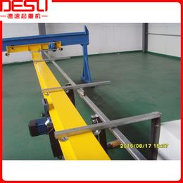 供应3吨低净空悬挂单梁起重机 电动悬挂单梁行车天车