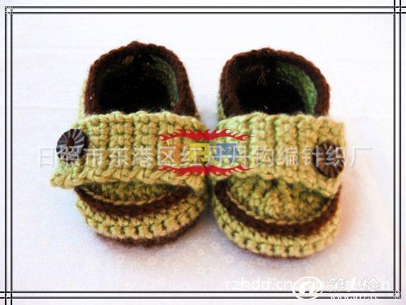 手钩童鞋,钩编婴儿鞋子宝宝鞋.-03