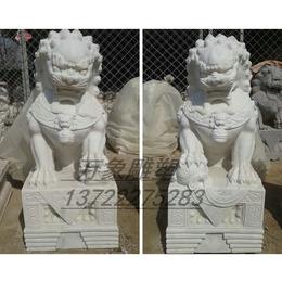 天安门精雕石狮 精润雕刻厂承接加工