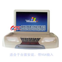 汽车载吸顶显示器12寸DVD高清屏MP5播放器超薄液晶电视机