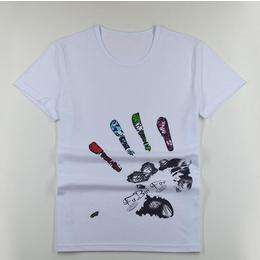 时尚印花韩版潮流T恤男式短袖T恤