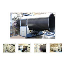 供应HDPE双平壁缠绕管生产设备厂家