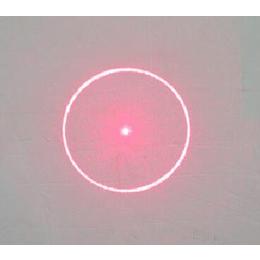 圆圈指示激光定位灯光栅镜片台湾UV热压工艺塑胶光栅片定制
