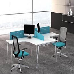 办公桌定制直销  T型双人位办公桌