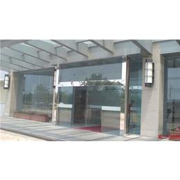 荔湾区多宝感应玻璃门、感应玻璃门吊轮、安装松下自动门