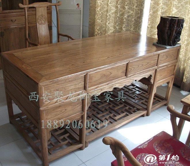 西安仿古家具 仿古办公桌