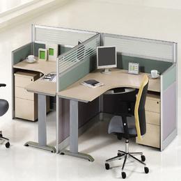 各种屏风办公桌 带屏风 定制销售