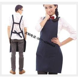 供应西双版纳广告围裙厂家 无纺布围裙价格 PVC围裙印字