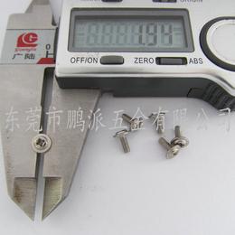螺丝厂家直销 不锈钢环保医疗器械螺丝 圆头十字带垫小螺钉
