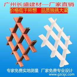 铝格栅厂家木纹铝格栅吊顶格栅天花铝格栅窗