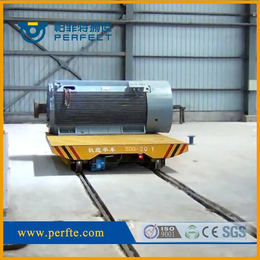 钢门运输轨道平车 移动电动升降平台车