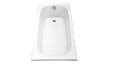 TOTO无裙边嵌入式压克力浴缸PAY1520P