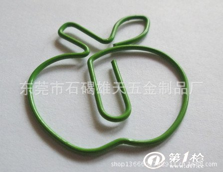 苹果异形回形针图片