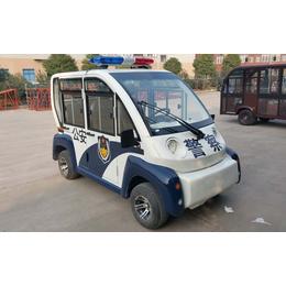 重庆金森林4座封闭电动巡逻车 市政巡逻电动车