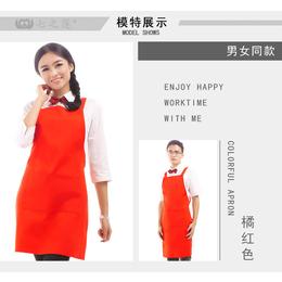 昆明广告围裙供应商广告围裙宣传礼品围裙定做印字印logo