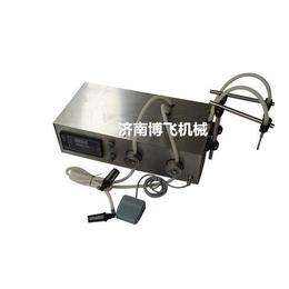 调节剂2头电动小型灌装机A香水定量分装机A漱口水手动罐装机