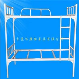 供应康胜学生上下双层铁架床实惠耐用学生双层单人铁架子床
