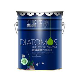 广东涂料招商加盟壹加壹硅藻净味内墙水漆