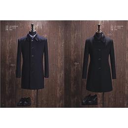 厂家直销秋冬男女装 中长款呢子大衣 毛呢外套风衣