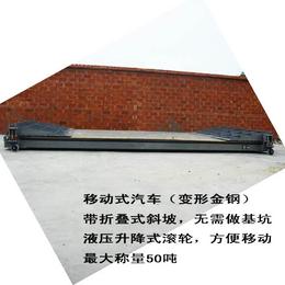 渭南市移动地磅5吨10吨15吨20吨