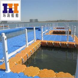 工厂定制全塑航道警示浮球 清淤胶管浮筒  水上耐酸碱浮箱