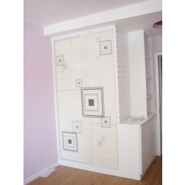 江西家具厂家 欧式推拉门衣柜板式衣柜