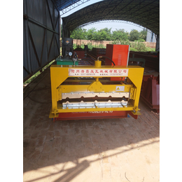 浩鑫波纹860型全自动压瓦机设备彩钢瓦机彩瓦设备机械