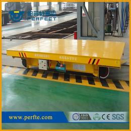 机械设备运输平板车低压轨道电动平车